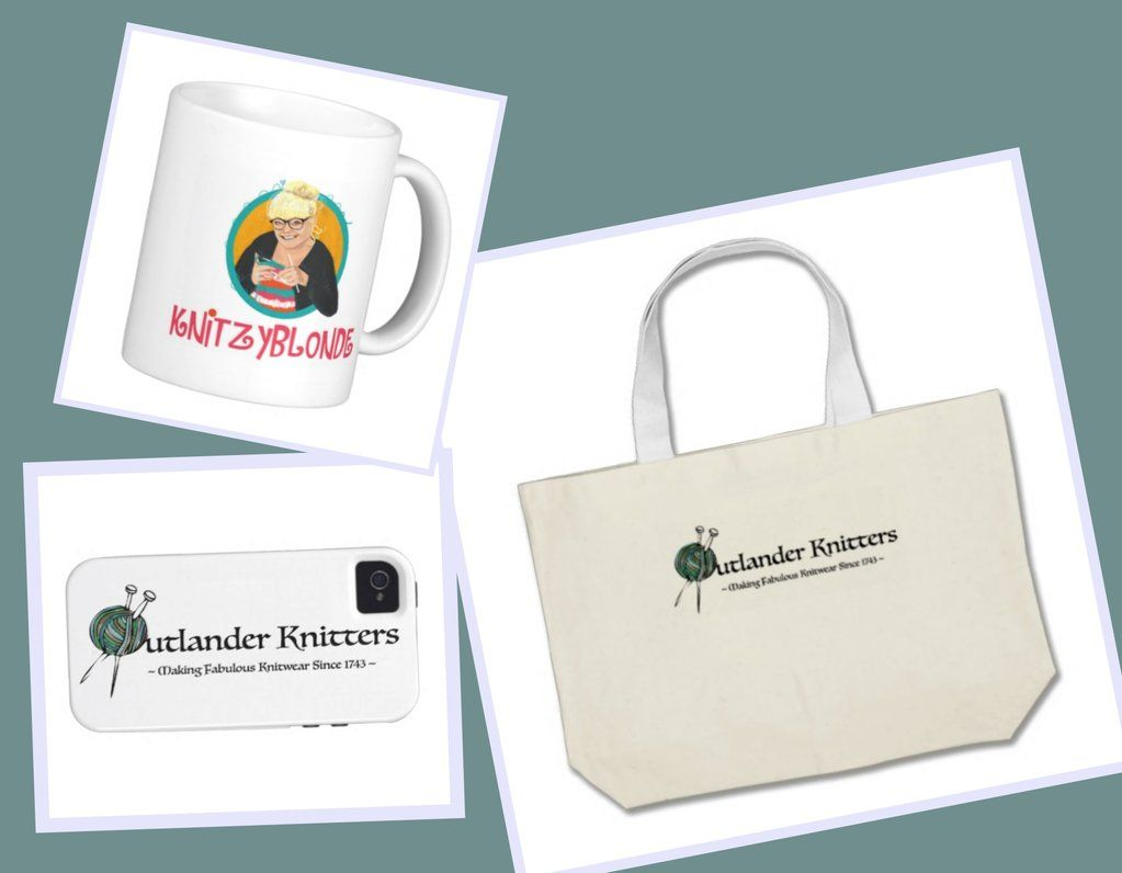 For all you KnitzyBlonde fans & #Outlander Knitters I have a Zazzle shop with some fun swag! http://bit.ly/1ONoV51