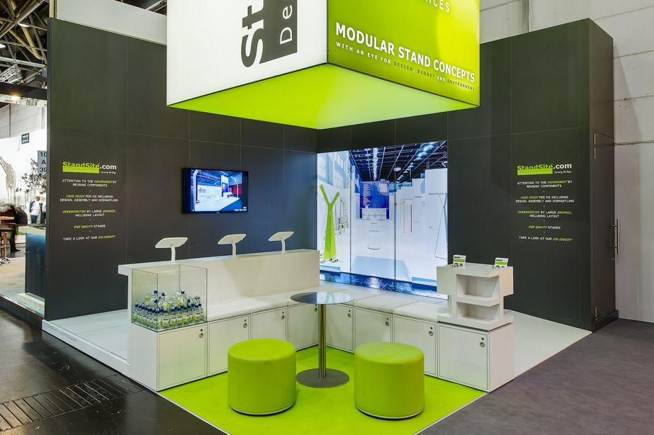 Sungard Exhibition Stand Stands For : Standsite u standsite booth exhibition design