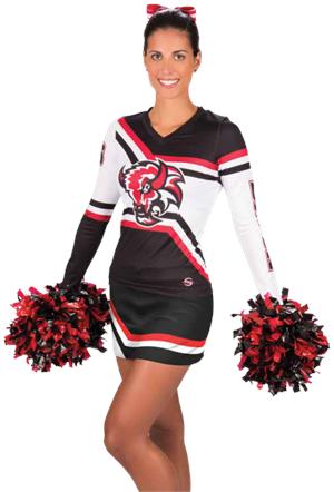 1260b73d Varsity Sublimated Cheer Uniform Top & Skirt | Cheerleading | Custom ...