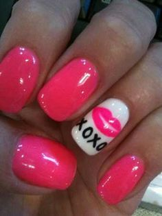nails toes by tovarj on pinterest valentine day nails coral gel nails and