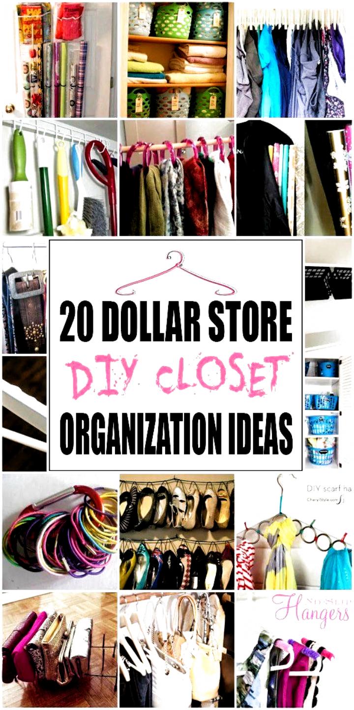 20 DOLLAR STORE DIY CLOSET ORGANIZATION IDEAS | 1000 #bathroom decor luxury