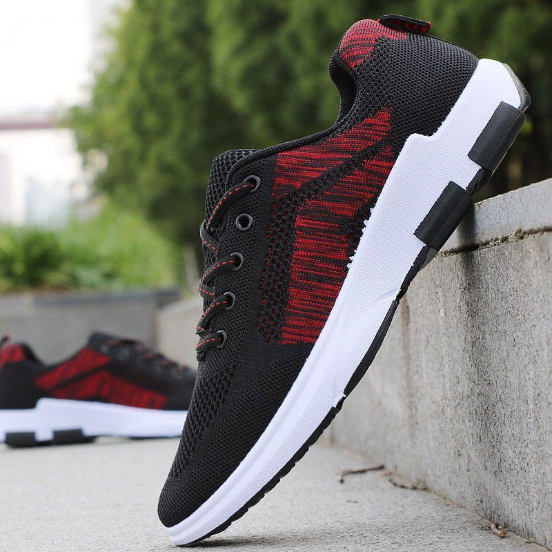 c72c2d58f57d7 Envío Gratuito Moda Para hombres Informales Zapatos Zapatillas Running  Zapatos Deportivos