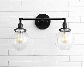 Photo of Wall Lights – Bathroom Lighting – Vanity Light – Industrial Light – Black Vanity Light – Lighting – Farmhouse Light – Model No. 7917