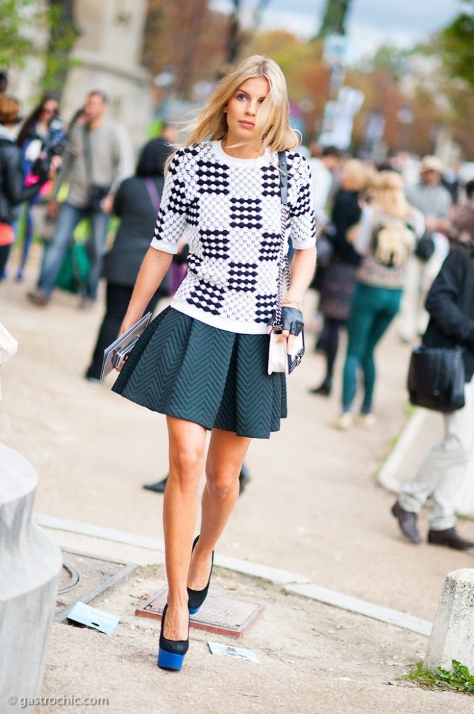 Pinned from GastroChic: Texture Play, Outside Chanel