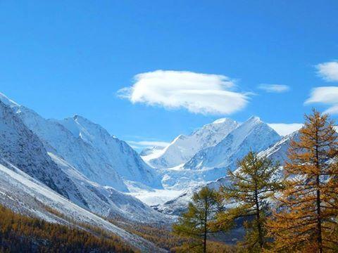 Turk Efsanelerinin Otagi Baturlarin Ocagi Altay Daglari Russia