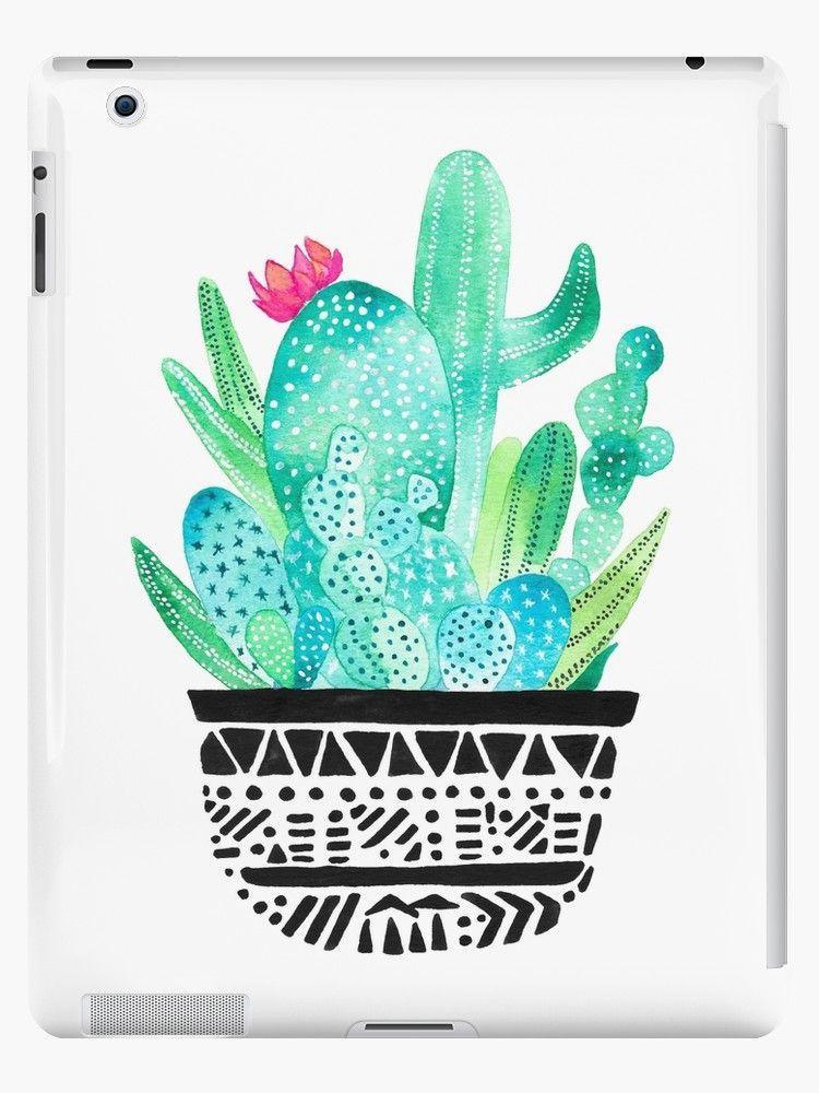 Pot Me A Cacti! | iPad Case & Skin | iPad Cases in 2019