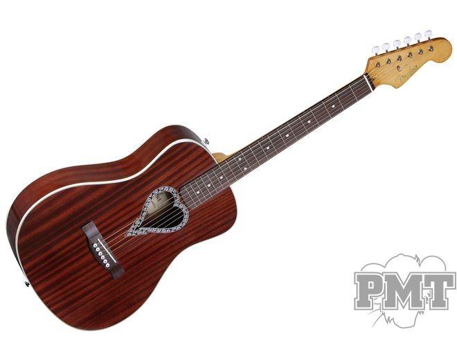 Fender Fender Alkaline Trio Malibu Acoustic Guitar With Heart Shaped Soundhole 209 00 Guitar Acoustic Guitar Washburn Acoustic Guitar