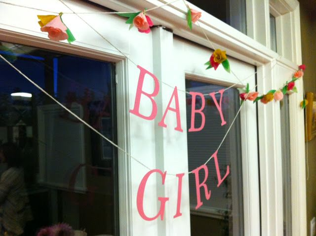 me oh my!: Baby Girl Shower