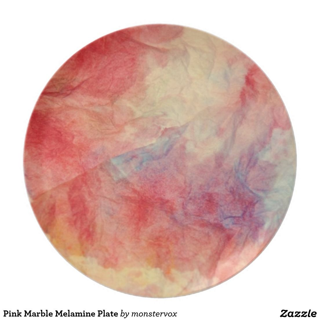 Shop Pink Marble Melamine Plate created by monstervox.  sc 1 st  Pinterest & Pink Marble Melamine Plate   Pink marble and Marbles