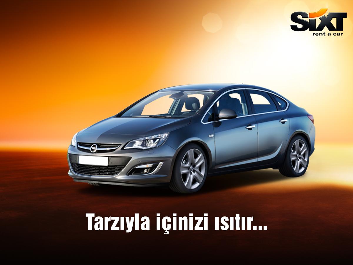 Icinizi Isitan Tasarim Ve Rahatlik Opel Astra Sixt Rent A Car Da Sizleri Bekliyor Sixt Sixtrentacar