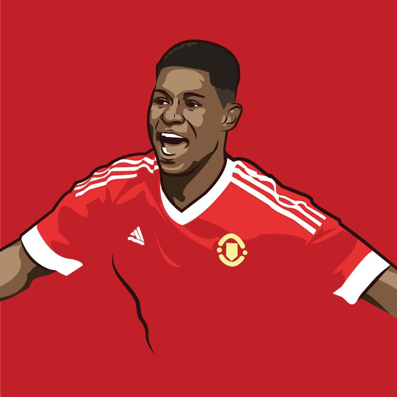 Marcus Rashford! The 18 year old United youngster who scored two and got man of the match on his Premier League debut. #MUFC