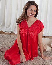 Silken Luxury Cap-Sleeve Pajamas