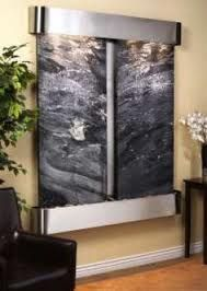 Indoor wall fountain. Luv it