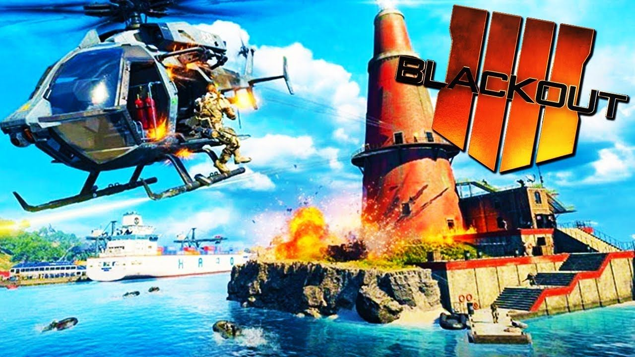 HELICOPTER FAIL! Call of Duty Blackout Beta YouTube