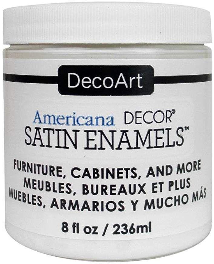 DecoArt Décor Americana Decor Satin Enamels 8oz WarmWht ...