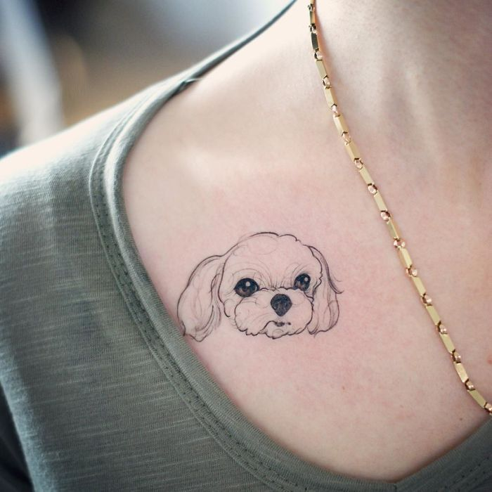 294 Of The Best Dog Tattoo Ideas Ever Tattoos For Dog Lovers