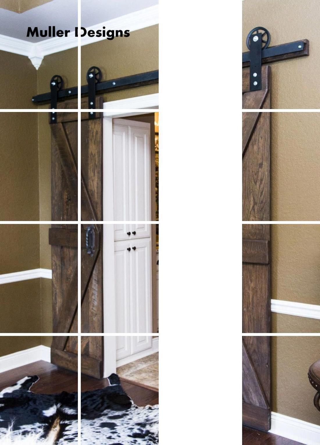 Sliding Door Track Hardware Barn Door Runners Rustic Sliding