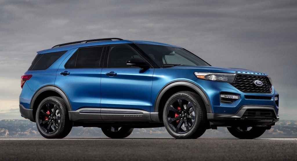 2020 Ford Explorer ST Packs 400 HP And Looks The Part