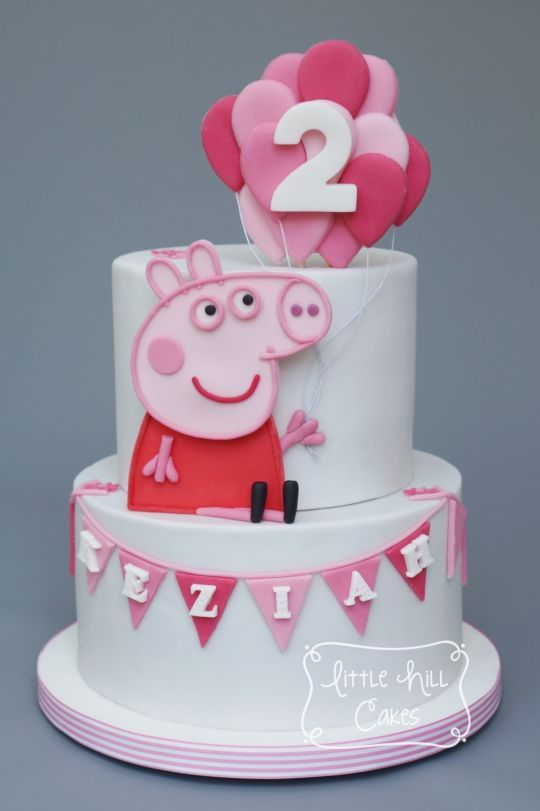 Peppa Pig Cake Peppa Pig Verjaardagstaart Varken Cake