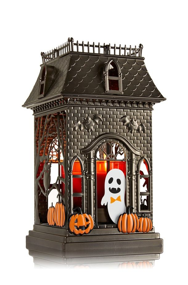 Fall Halloween Bathroom Decor