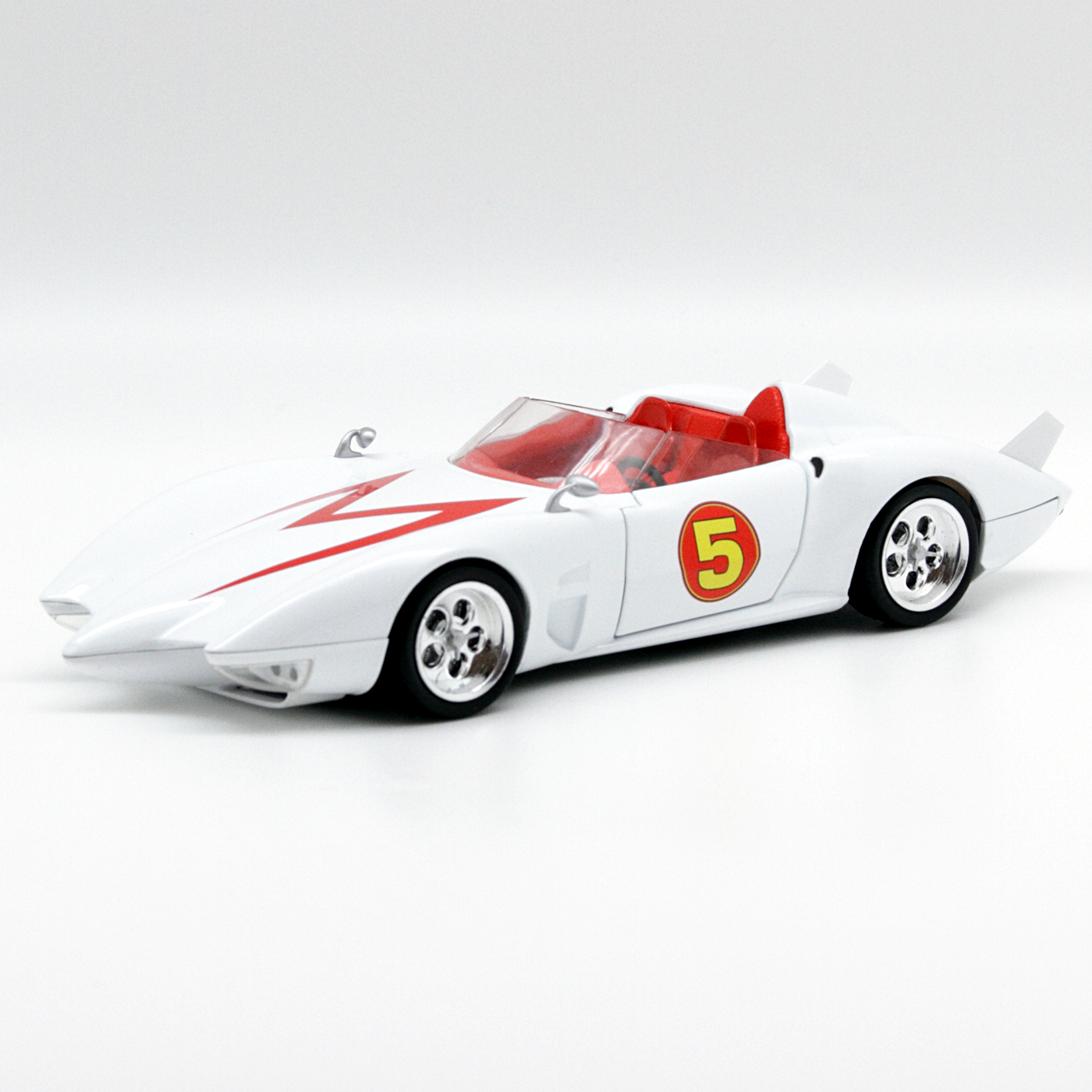Hot Wheels Speed Racer Mach 5 Movie Version 1 24 2008 Hot Wheels Hot Wheels Cars Toys Speed Racer