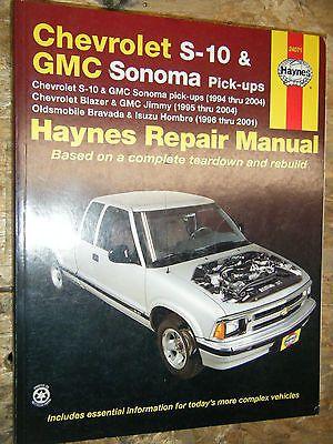1994 2004 chevrolet s 10 blazer gmc sonoma s 15 jimmy haynes rh pinterest com 2002 Chevrolet Silverado 1999 Chevrolet Silverado