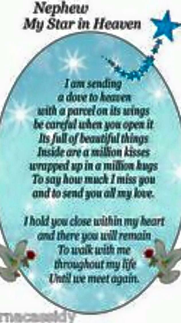 Pin By Maggie Last Name On Grief Nephew Quotes Birthday