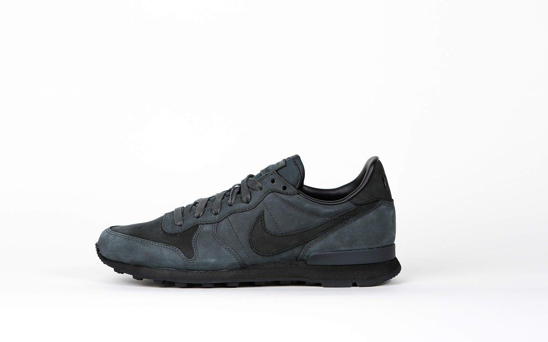Nike Internationalist LX - Anthracite  Black - University Red - 806810 006  - stickabush.