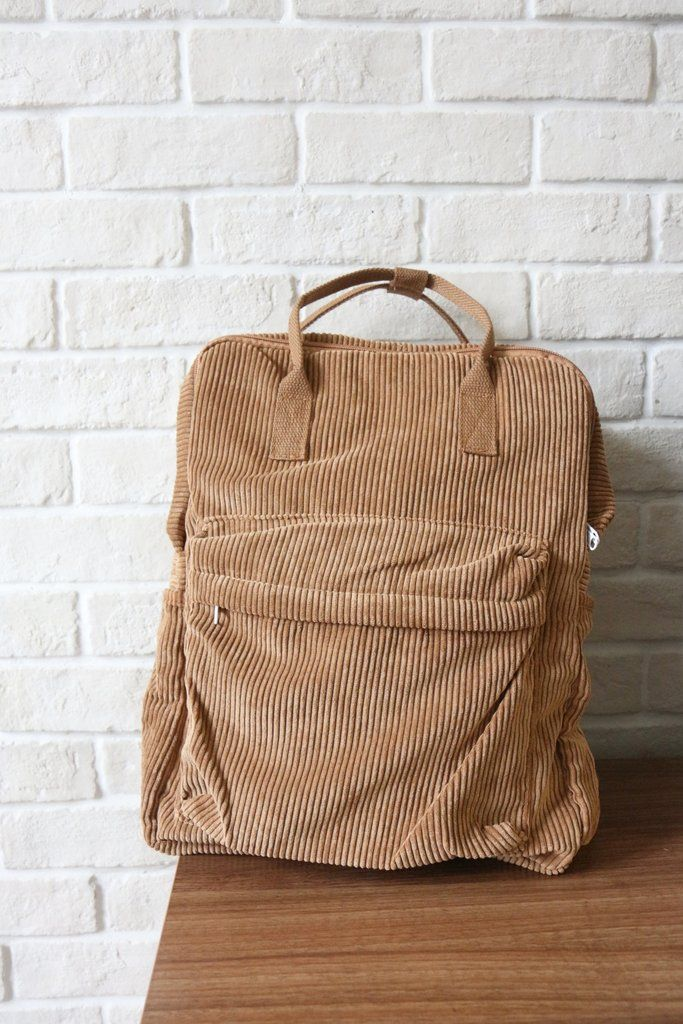 Shalex Corduroy Backpack #backpacks