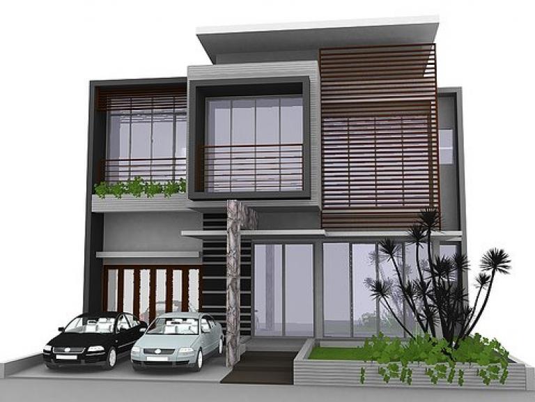 Desain Interior Rumah Minimalis Pdf  80 desain rumah minimalis 2 lantai 6x15 terbaru minimalist