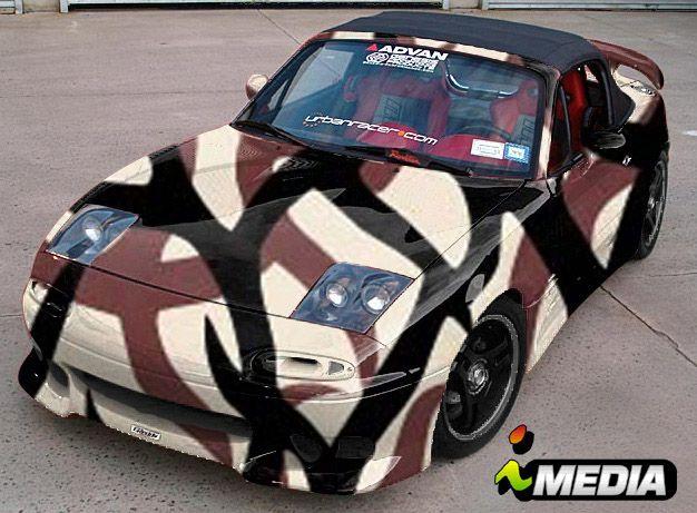 Drift Car painted in ASAT Camo | Drifting cars, Car ...