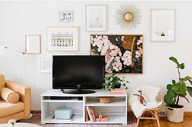 Awesome Wall Decor Over Tv