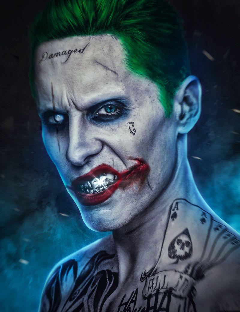 Artstation Joker Aiko Aiham In 2020 Joker Wallpapers Harley And Joker Love Joker Artwork