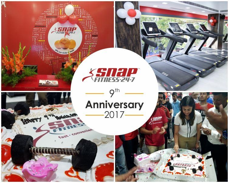 Snap Fitness India 9th anniversary celebrations