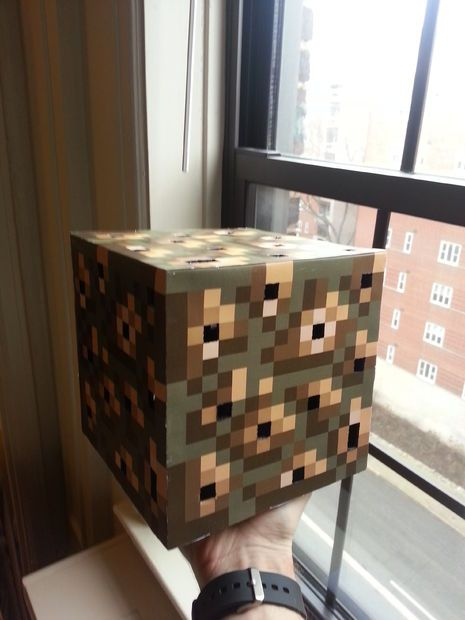 Minecraft Glowstone Cube Lamp Cube Lamps Cube Minecraft Crafts