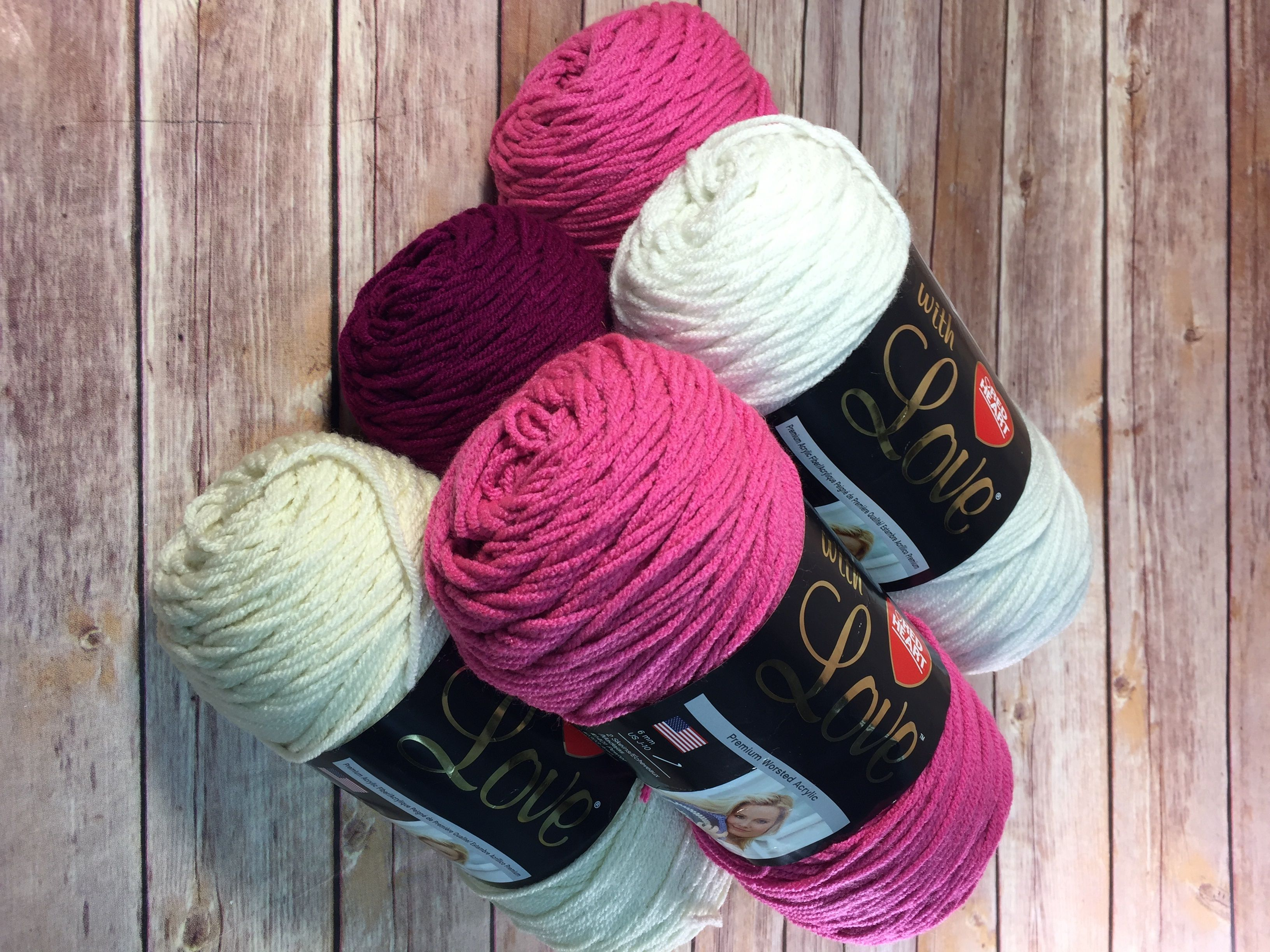 Red Heart With Love Yarn Bundle giveaway | Giveaways/sweepstakes ...