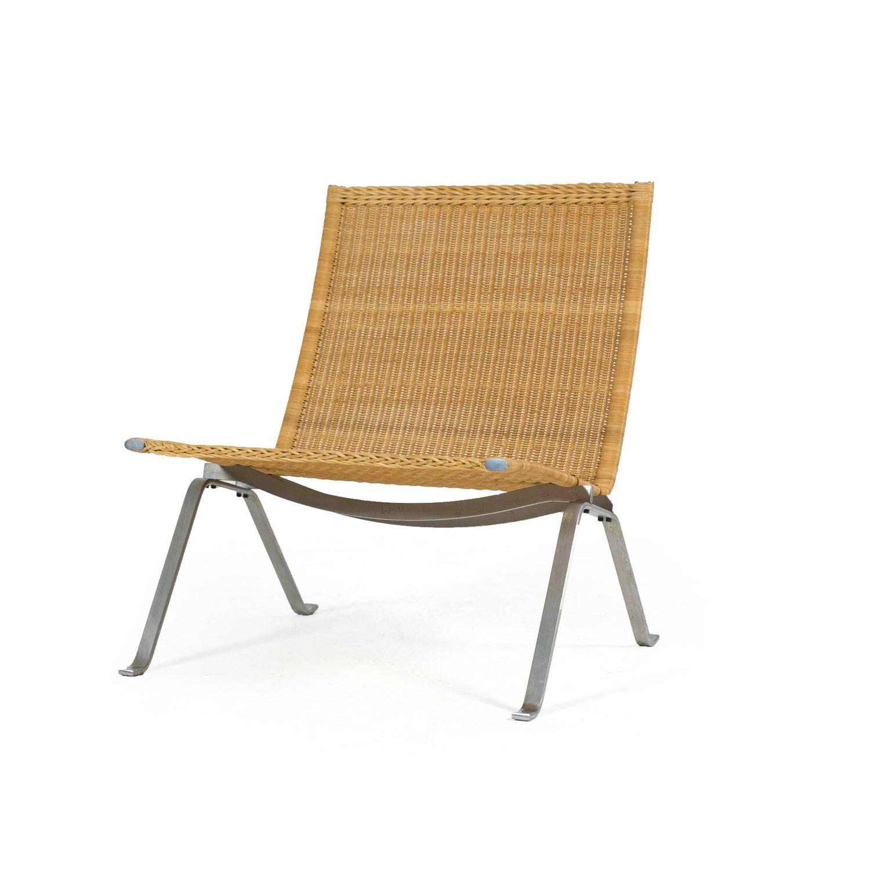 Poul Kj¦rholm Pk22 Wicker Chair E Kold Christensen