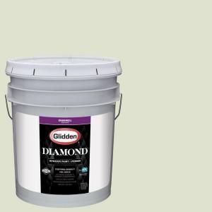 Ppg Diamond 5 Gal Hdgg48 Pale Pistachio Eggshell Interior Paint With Primer Hdgg48d 05en The Home Depot Glidden Premium Interior Paint Glidden Paint