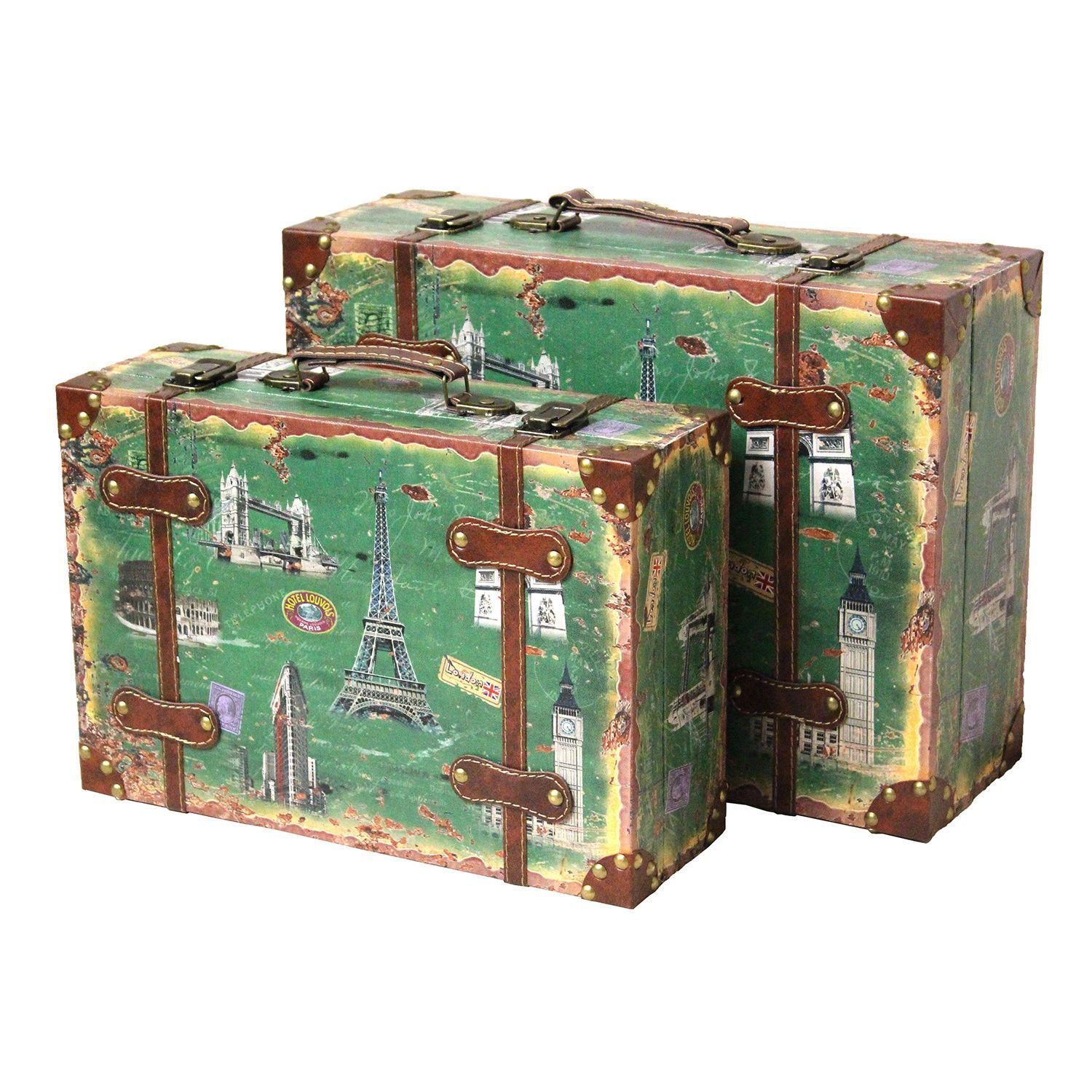 Luggage Style Furniture: Enhance The Look Of Any Space With The Vintage Style