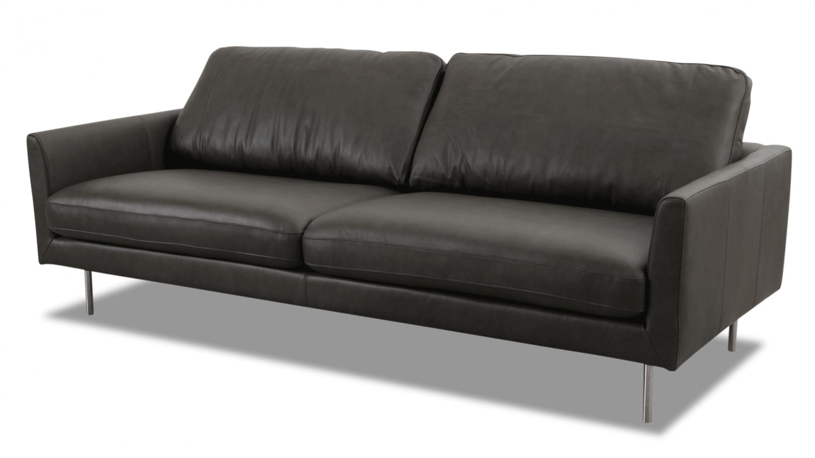 Tommy M Sofa Mayfair In Leder Jupiter Grau In 2020 Sitzen Sofa Outlet Sofa