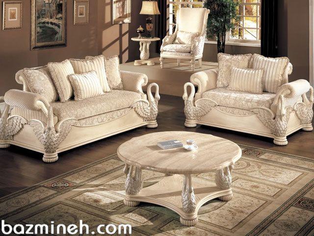 چک لیست جهیزیه هال و پذیرایی منزل Elegant Living Room