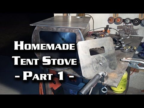 Building a Wall Tent Stove Part 1 (Cylinder Stove) - YouTube & Building a Wall Tent Stove Part 1 (Cylinder Stove) - YouTube ...