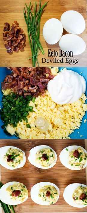 Simple Deviled Eggs Recipe Keto Recipes Pinterest Keto