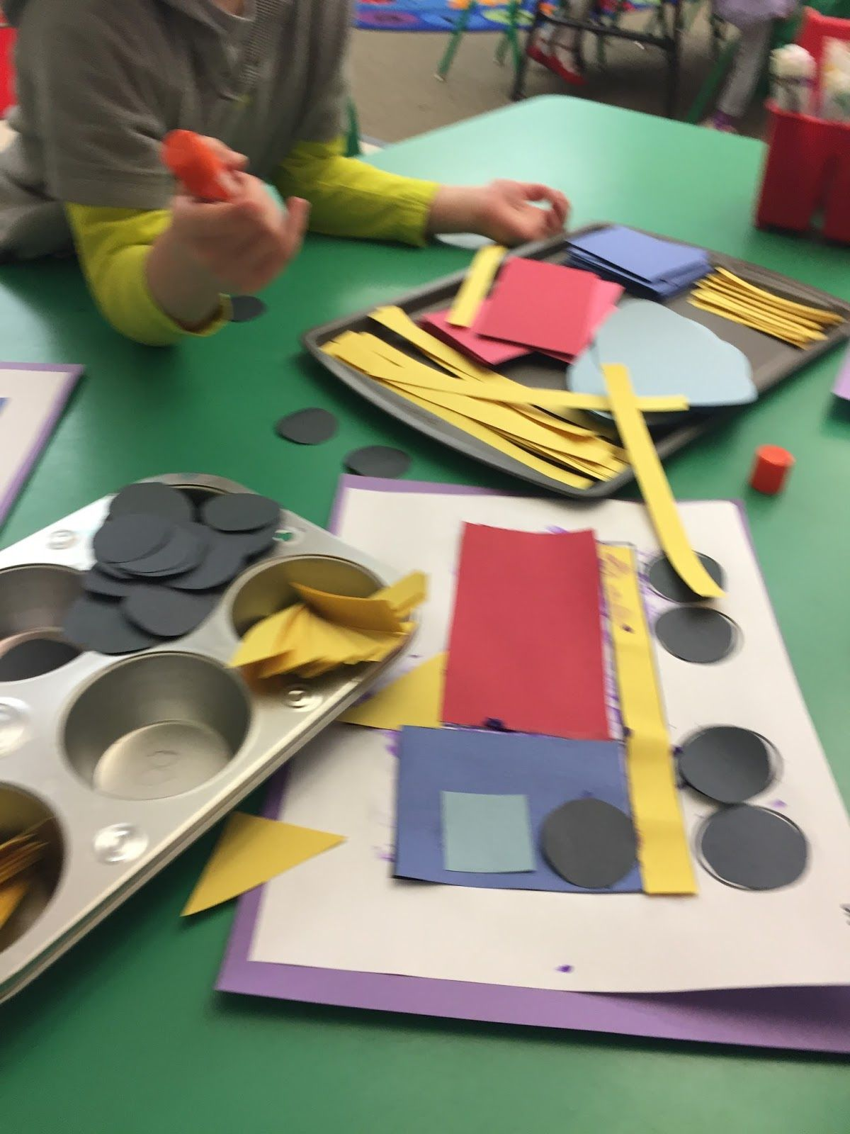 Fantastic Shape Craft For Your Construction Theme Perfect