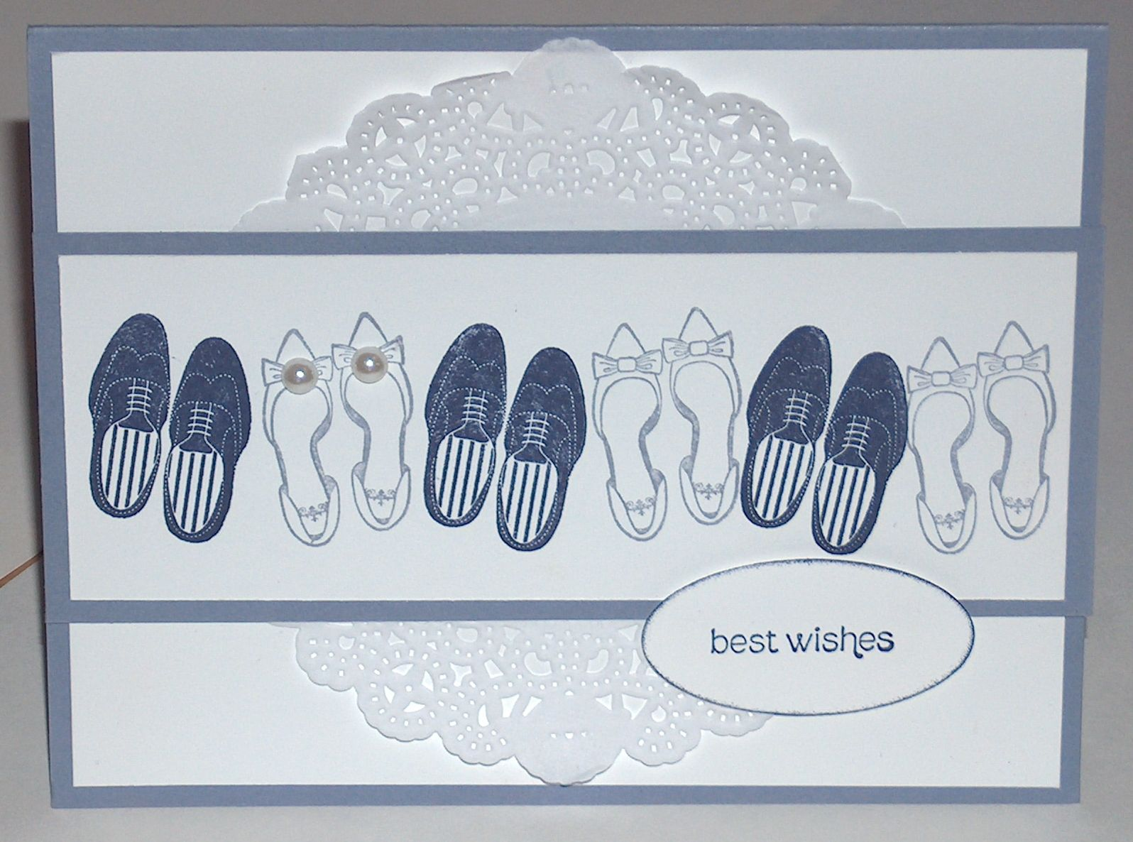 Just Married Stamp Set By Stampin Up I Just Love These Shoes And
