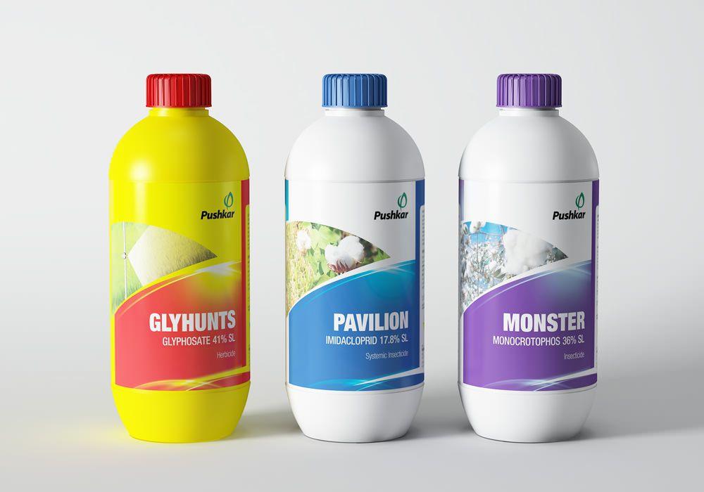 Agriculture Pesticiedes Bottle Label Design | Packaging Design ...