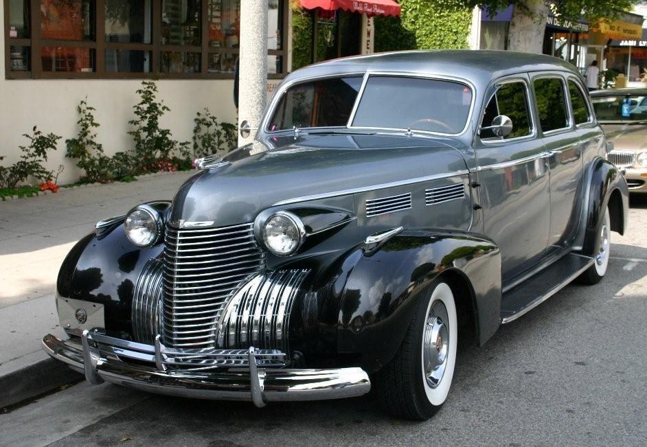 1940 Cadillac 72 7233 series CAD 7 Tour Imperial Sedan Limo Custom