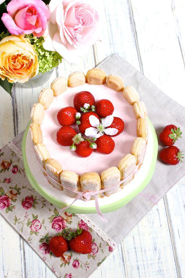 Erdbeer-Charlotte Rezept | MEINE Rezepte aus meiner Küche by ...