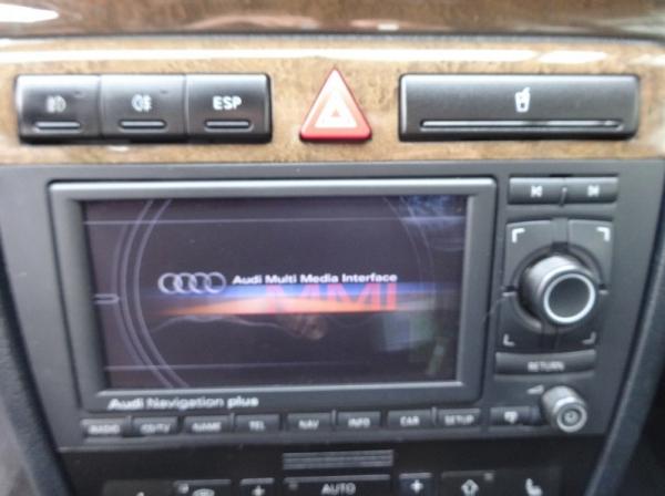 European C5 A6 Navigation Plus Retrofit In Audi S4 B5 Modified