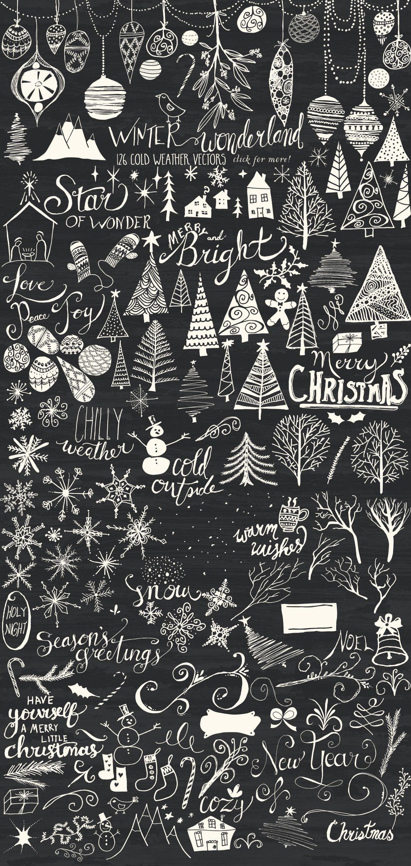 f Winter Wonderland Bundle by Studio Denmark on Creative
